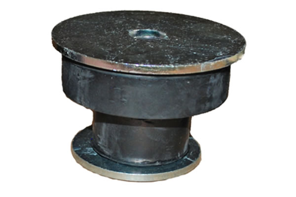 center bonded mounts