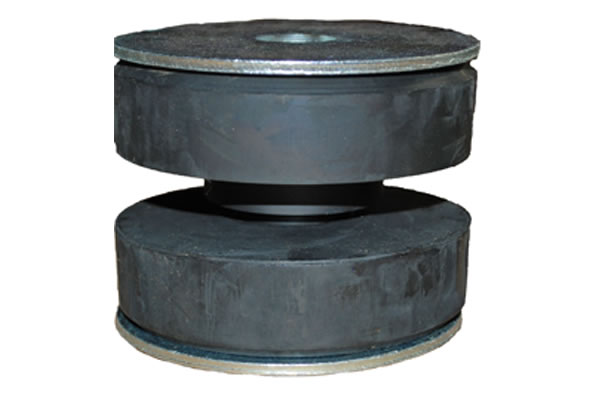 two piece center bonded mounts