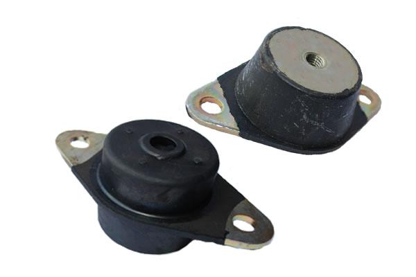 Cone Mounts | Shear | Rubber Vibration Isolators