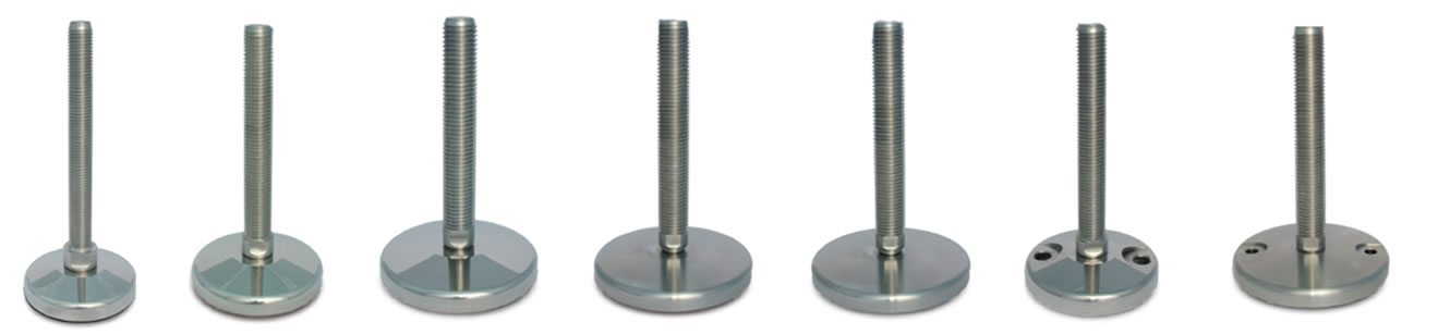 heavy duty stainless steel leveling feet