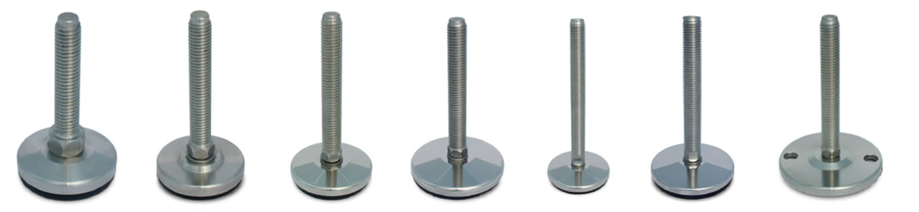 medium load stainless steel leveling feet