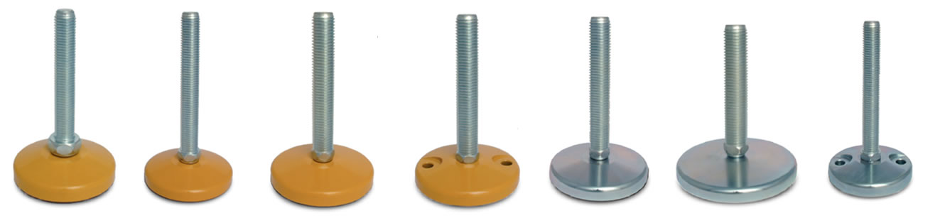 heavy duty steel leveling feet