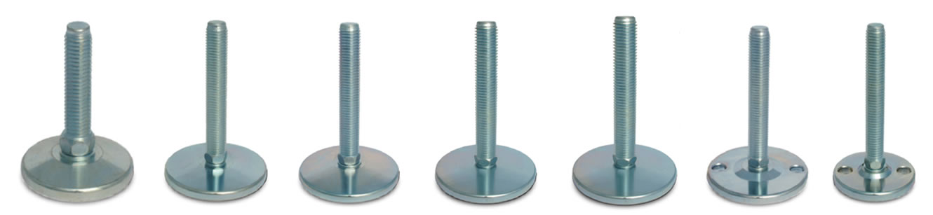 medium load steel leveling feet